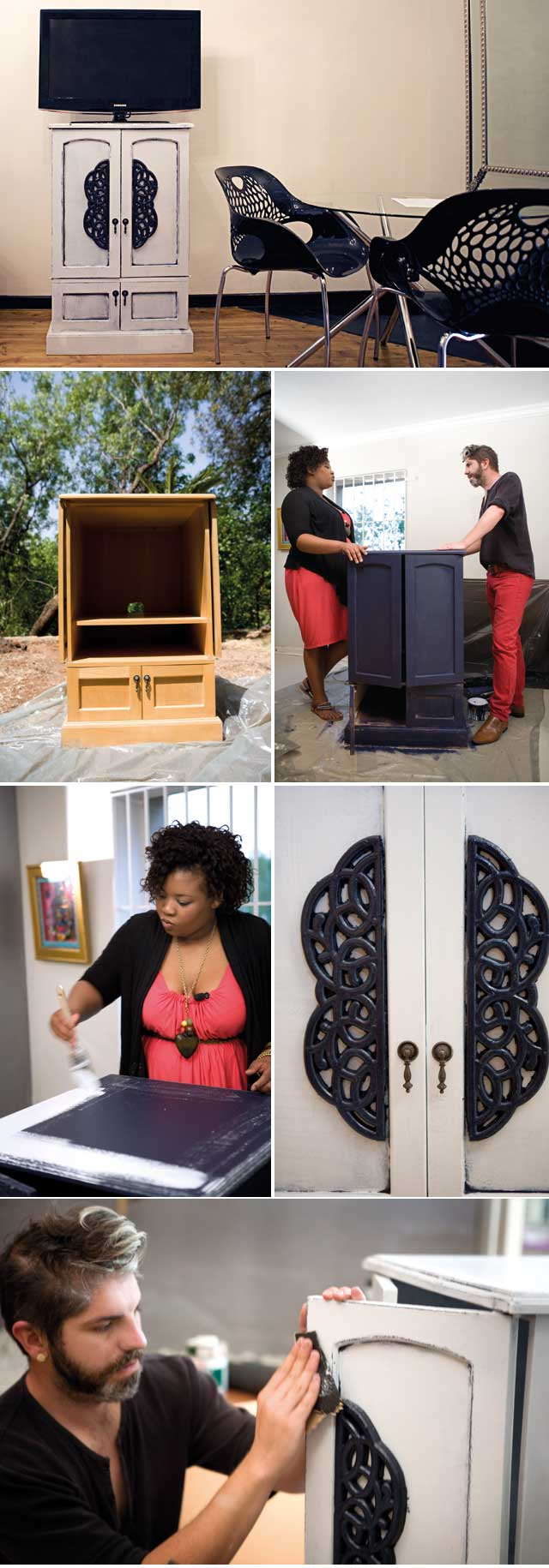 Top Billing brings you decor ideas with a DIY cupboard makeover