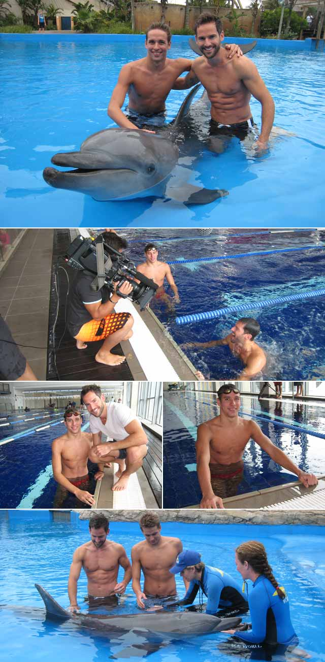 A Day with Chad le Clos