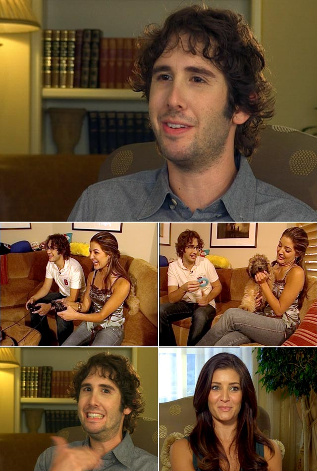 Josh Groban on Top Billing
