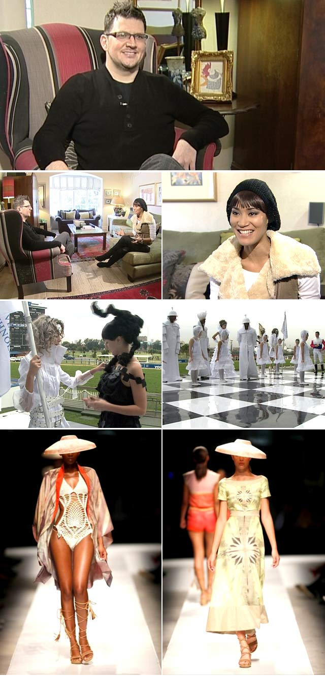 Top Billing interviews Terrence Bray on Charlene Wittstocks dress