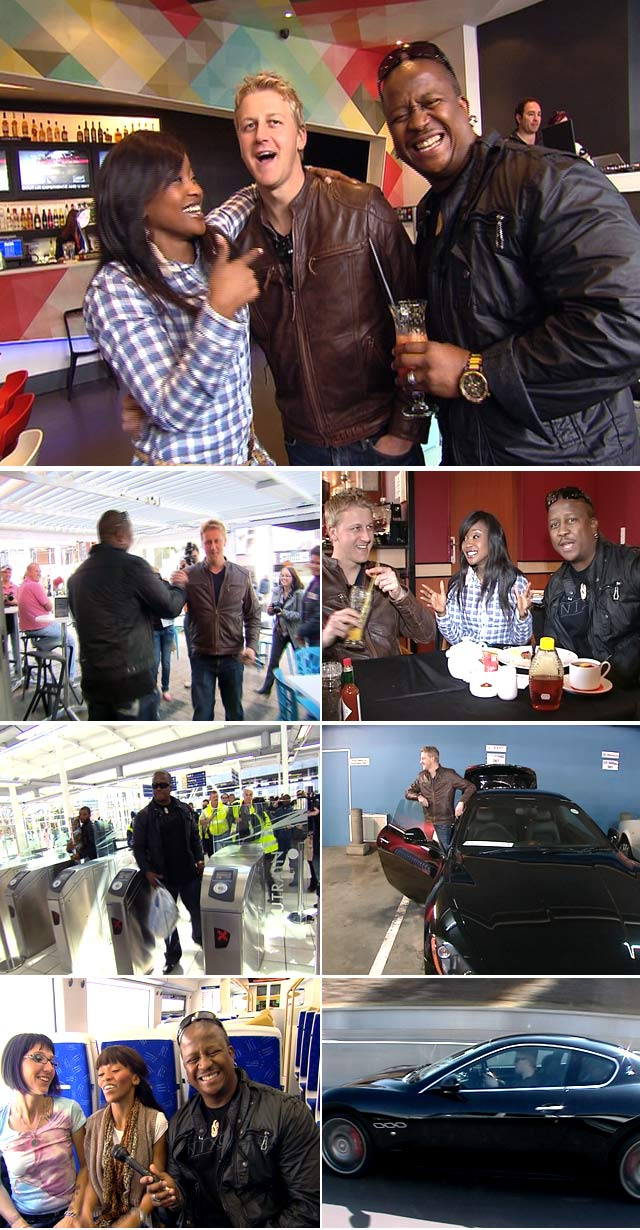 Top Billing features DJ Fresh and Gareth Cliff on the Gautrain