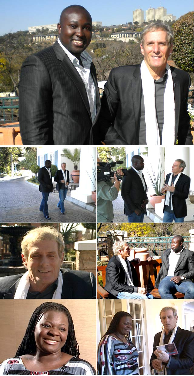 Top Billing presenter Simba interviews Michael Bolton