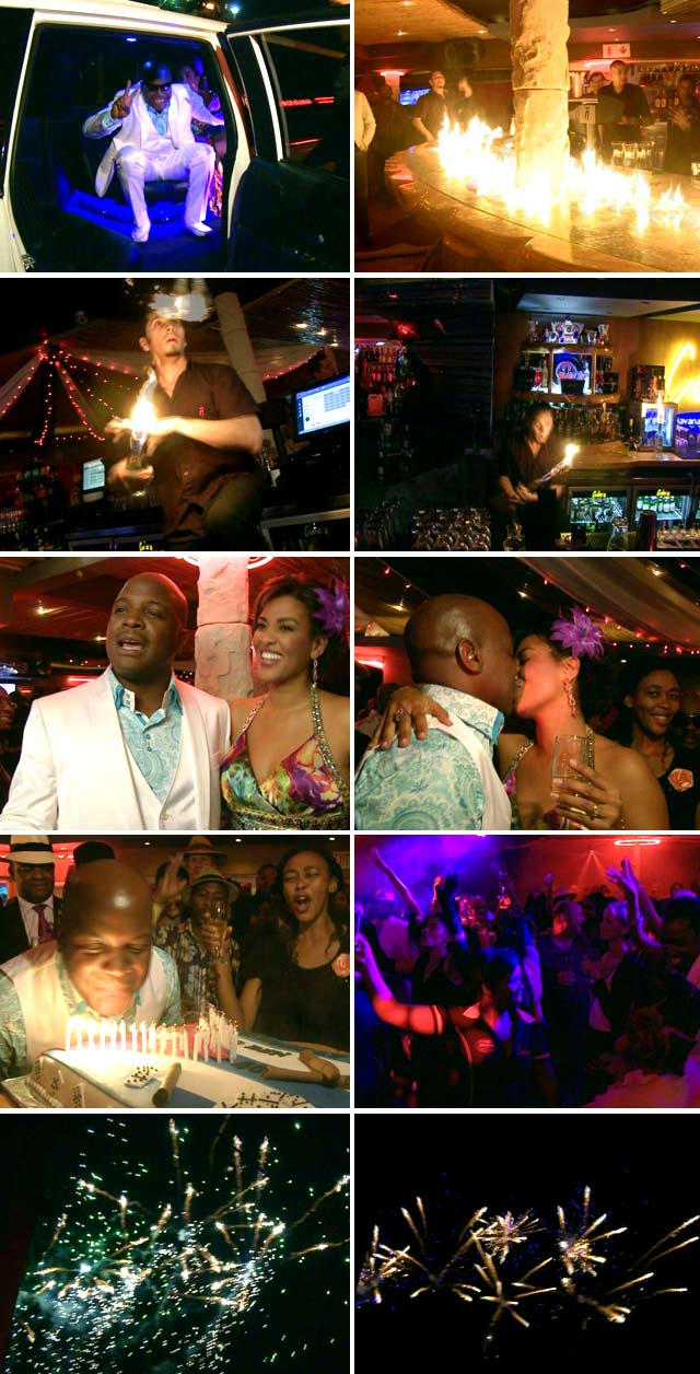 Top Billing attends Ben Nyaumwe's 40th Birthday Party