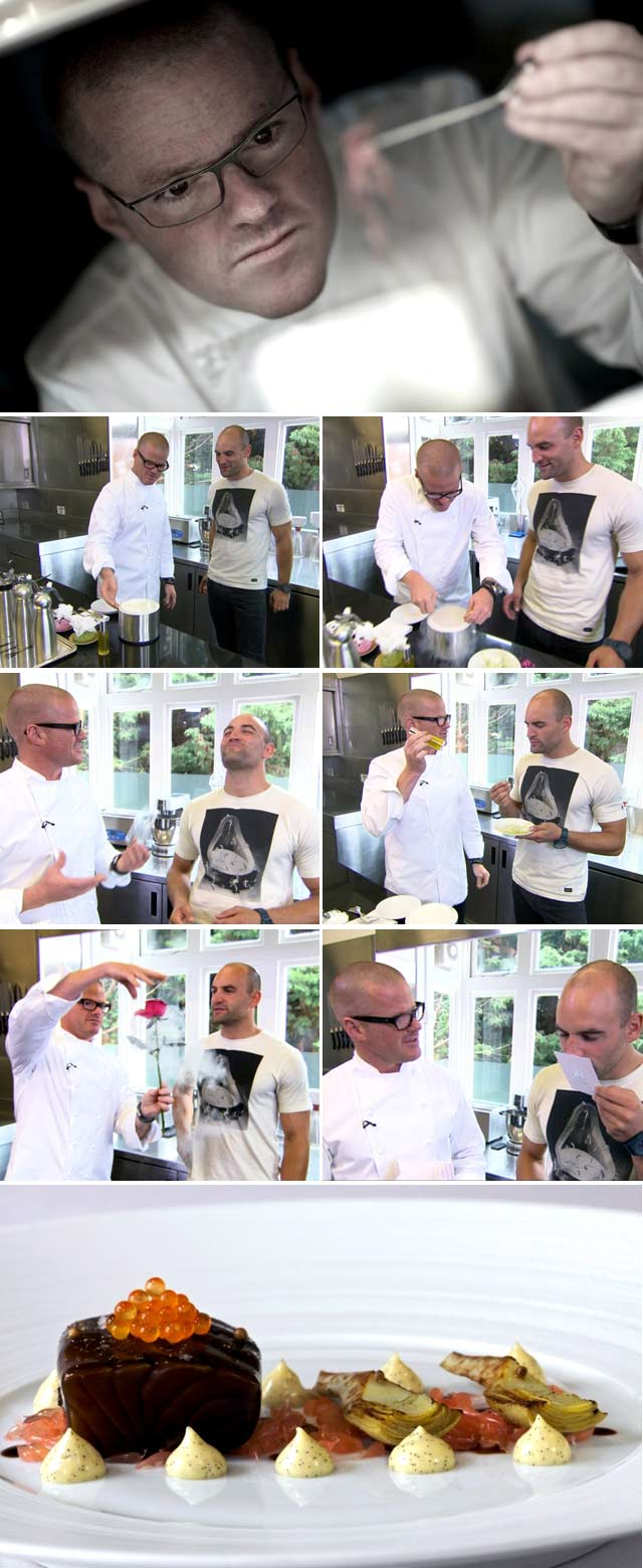 Top Billing interviews Heston Blumenthal