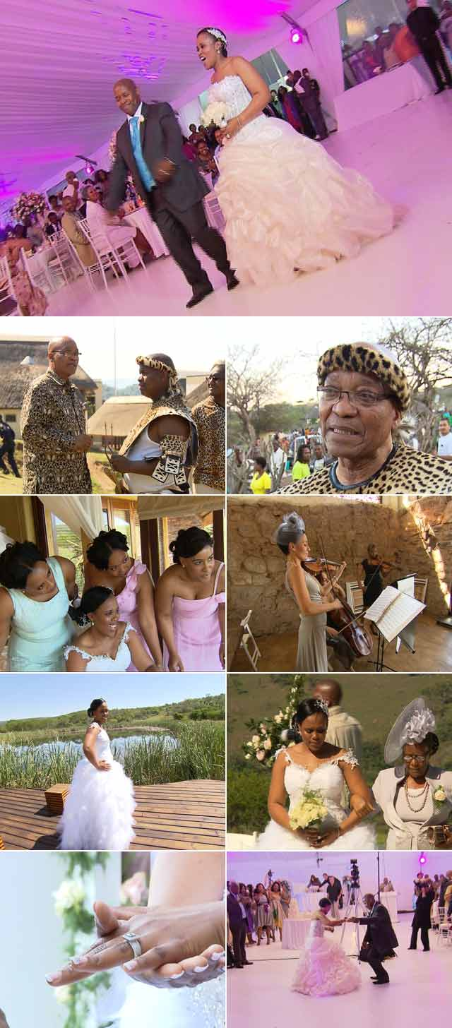 Zuma's Son's Wedding