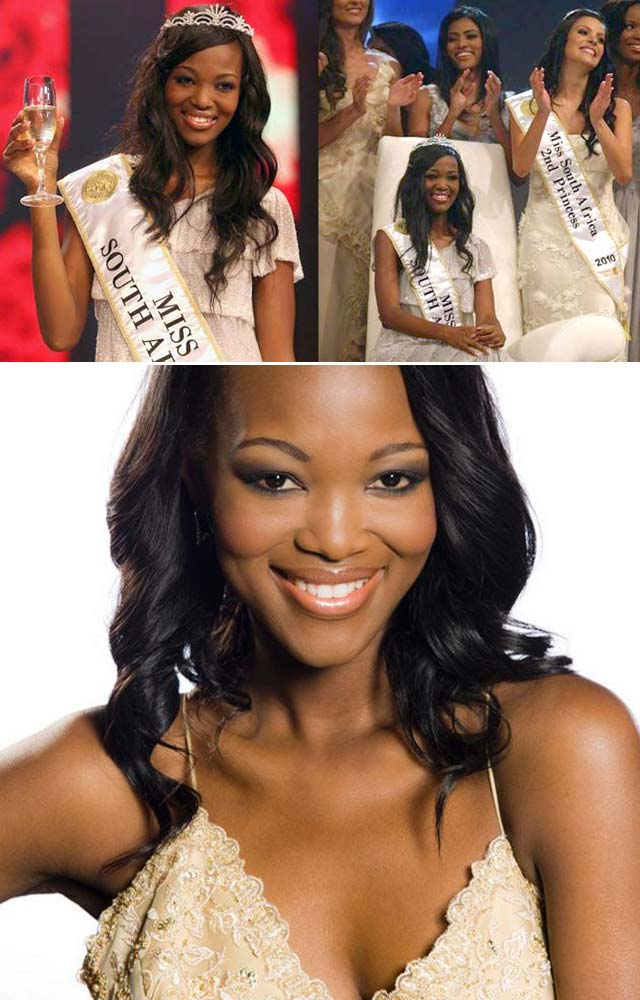 Top Billing interviews Miss SA 2011 Bokang Montjane