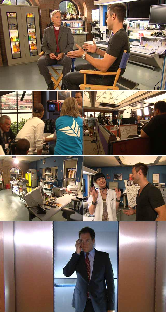 Top Billing goes behind the scenes on NCIS