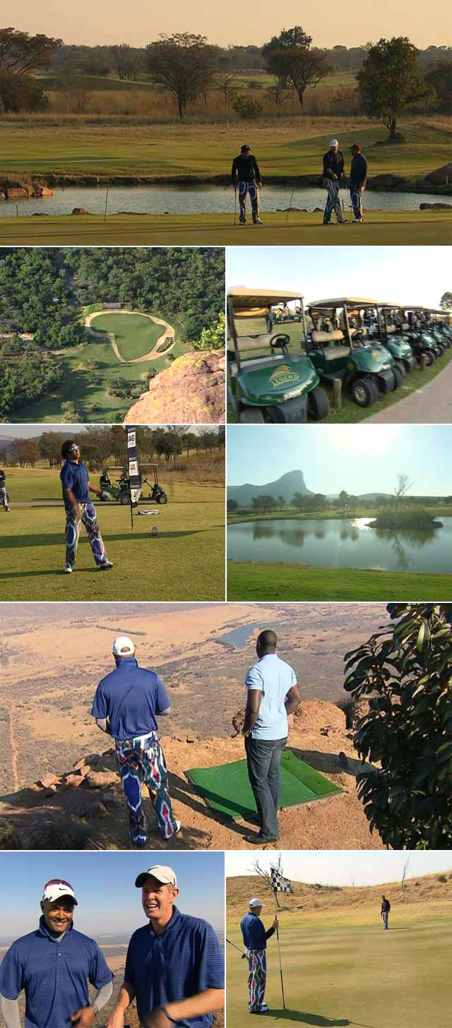 Top Billing attends the JAG Foundation golf day