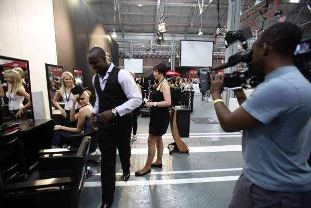 Top Billing behind the scenes at JHB Fashion Week 2011