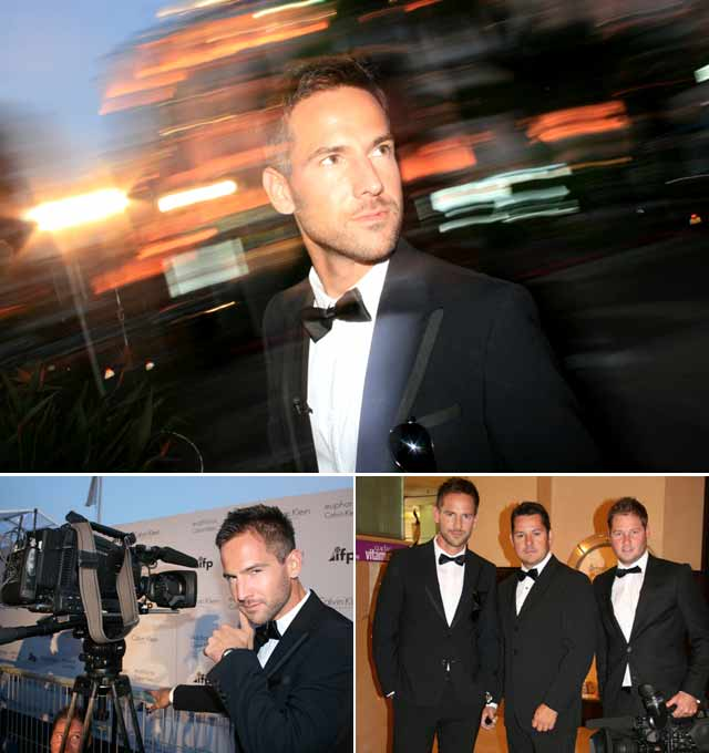 Top Billing's Janez Vermeiren attends Cannes Film Fest 2011