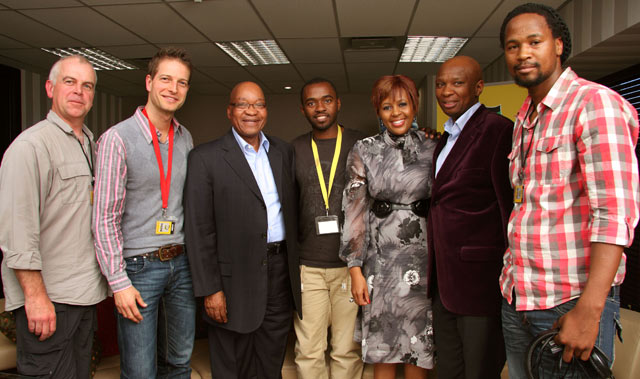Top Billing cre with SA President Jacob Zuma