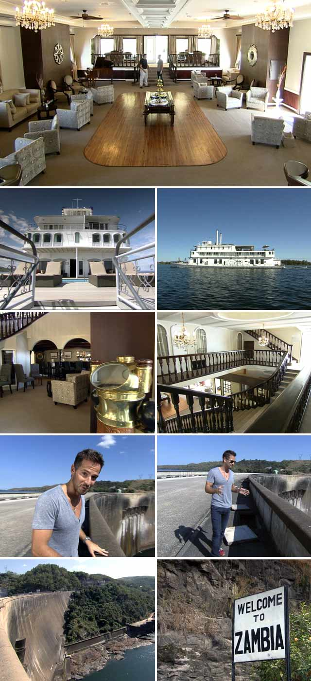 Top Billing visits the Southern Belle houseboat on Lake Kariba