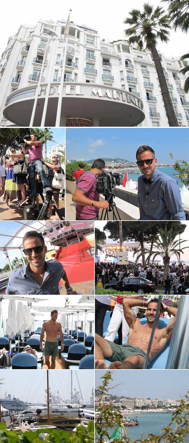 Top Billing's Janez Vermeiren attends Cannes 2011