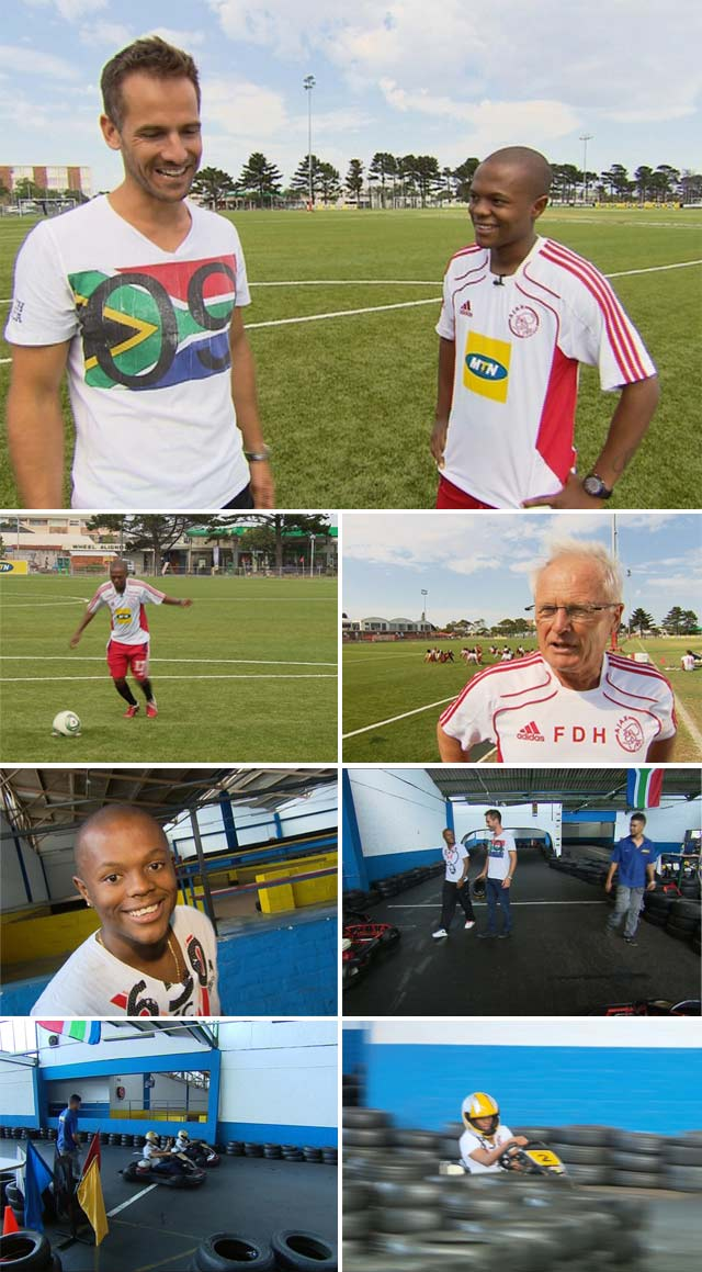 Top Billing Interviews Ajax Star Thulani Serrero