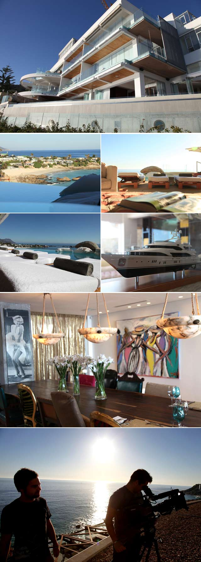 Top Billing featured house Molori Clifton in Cape Town