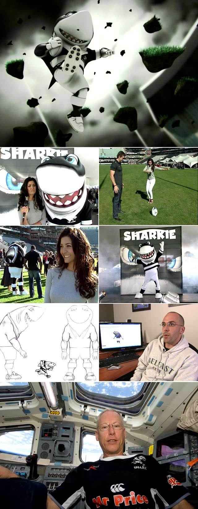 Top Billing meets Sharkie