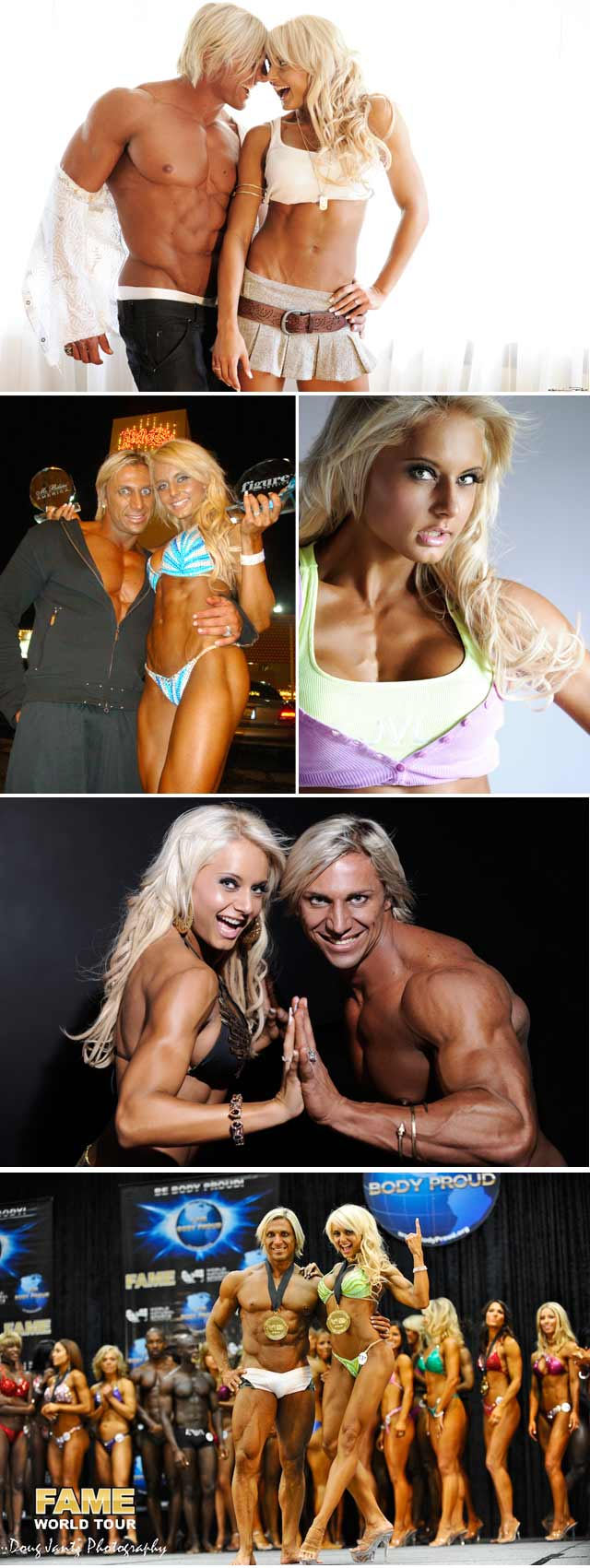 Top Billing interviews fitness model Angelique Van Der Linde