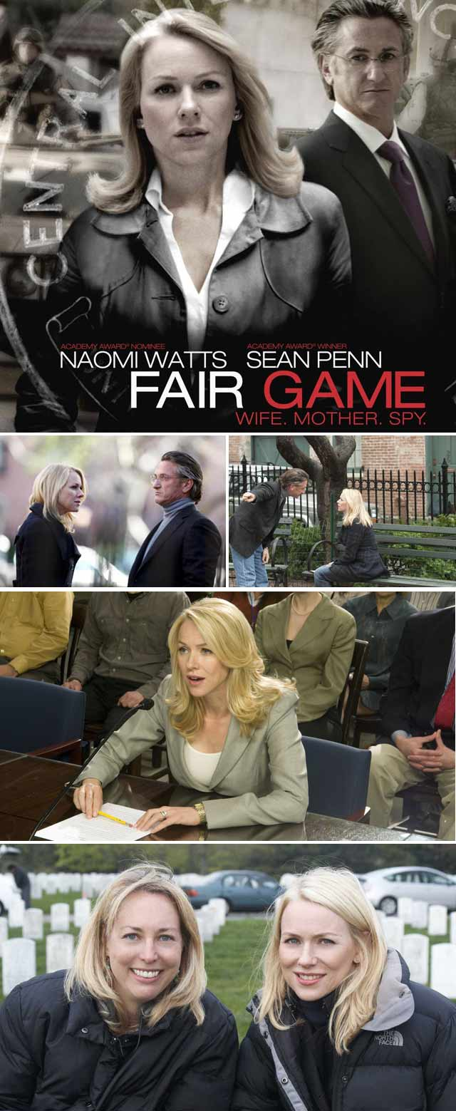 Top Billing interviews Naomi Watts about her role in Fair Game