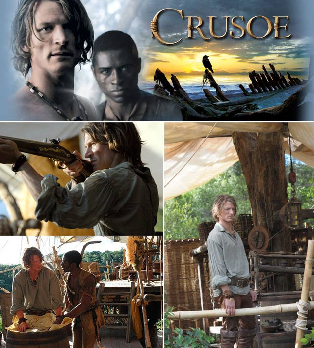 Top Billing goes behind the scenes of Crusoe