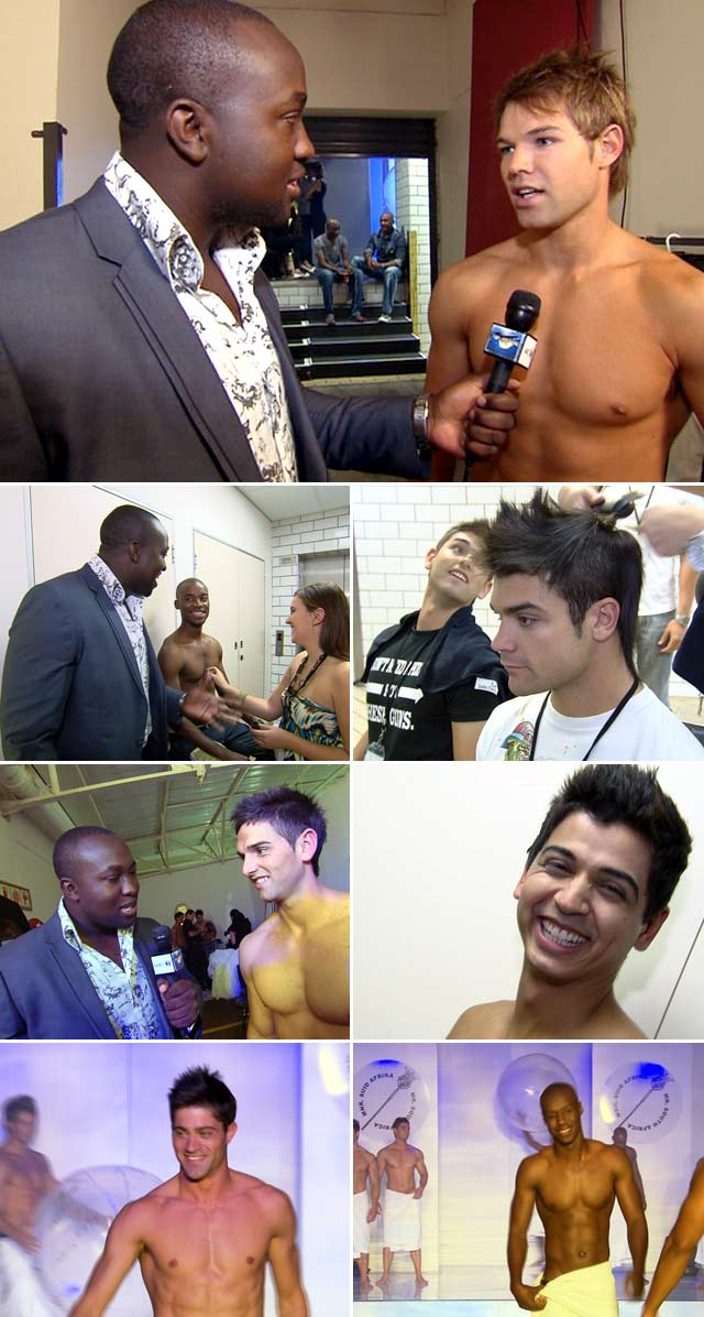 Top Billing attends Mr SA 2011