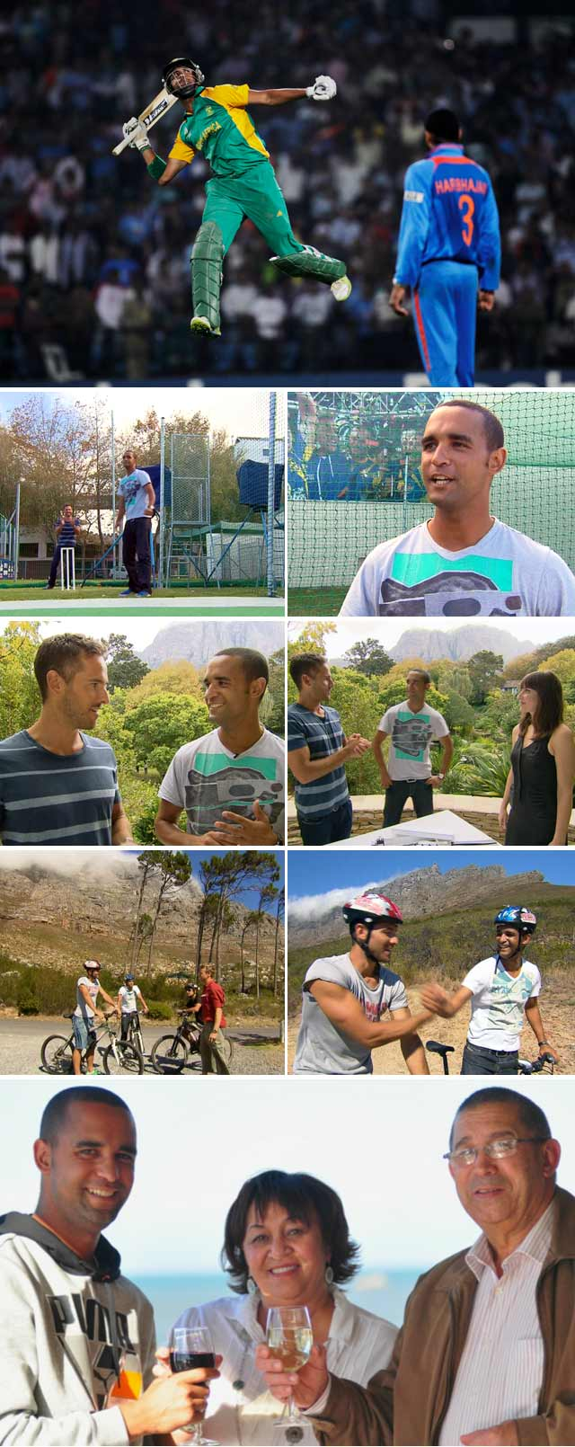 SA Cricketer Robin Peterson Interview with Top Billing