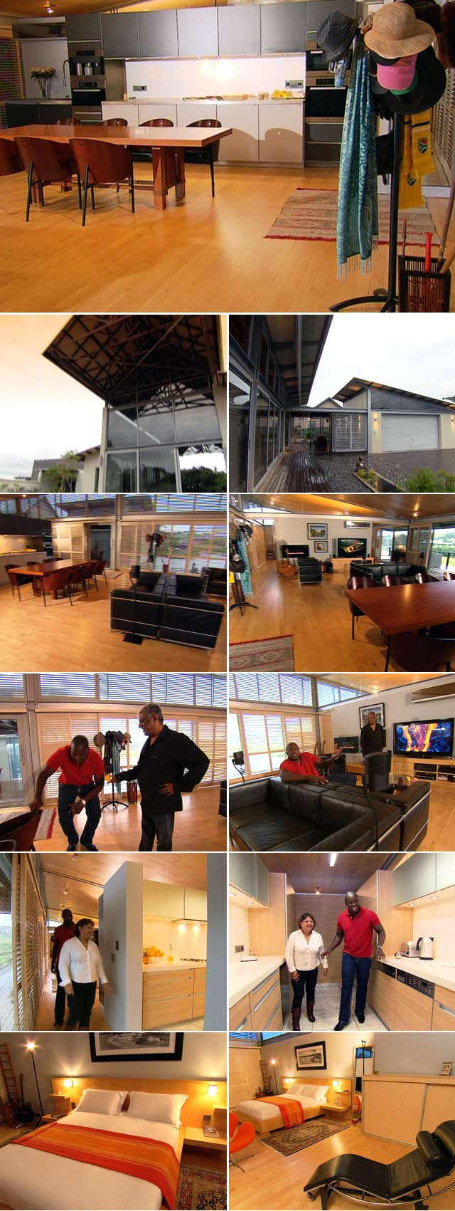 Top Billing features an Eco Friendly home in Durban