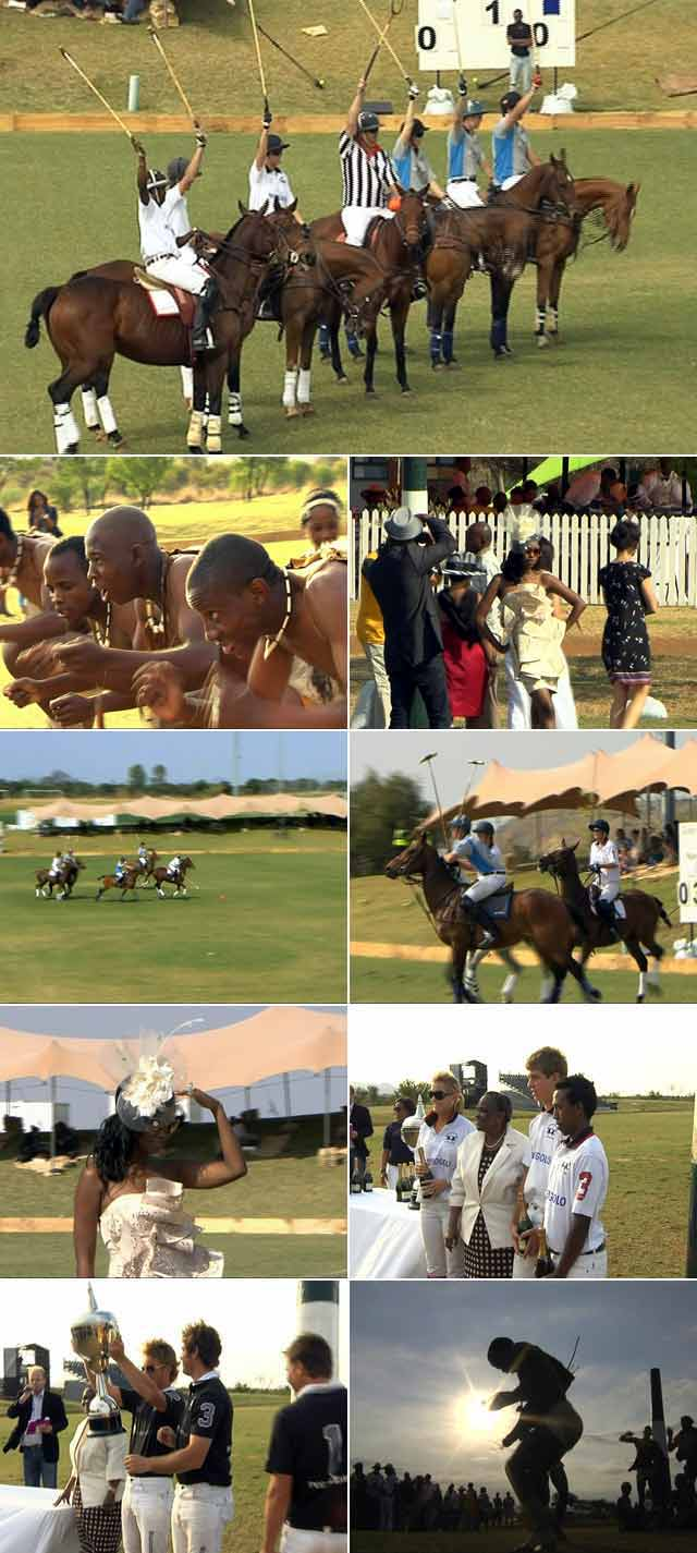 One of the most exciting new sporting and society events,  action polo, which has taken London by storm, now comes to  the Highveld for the first time.