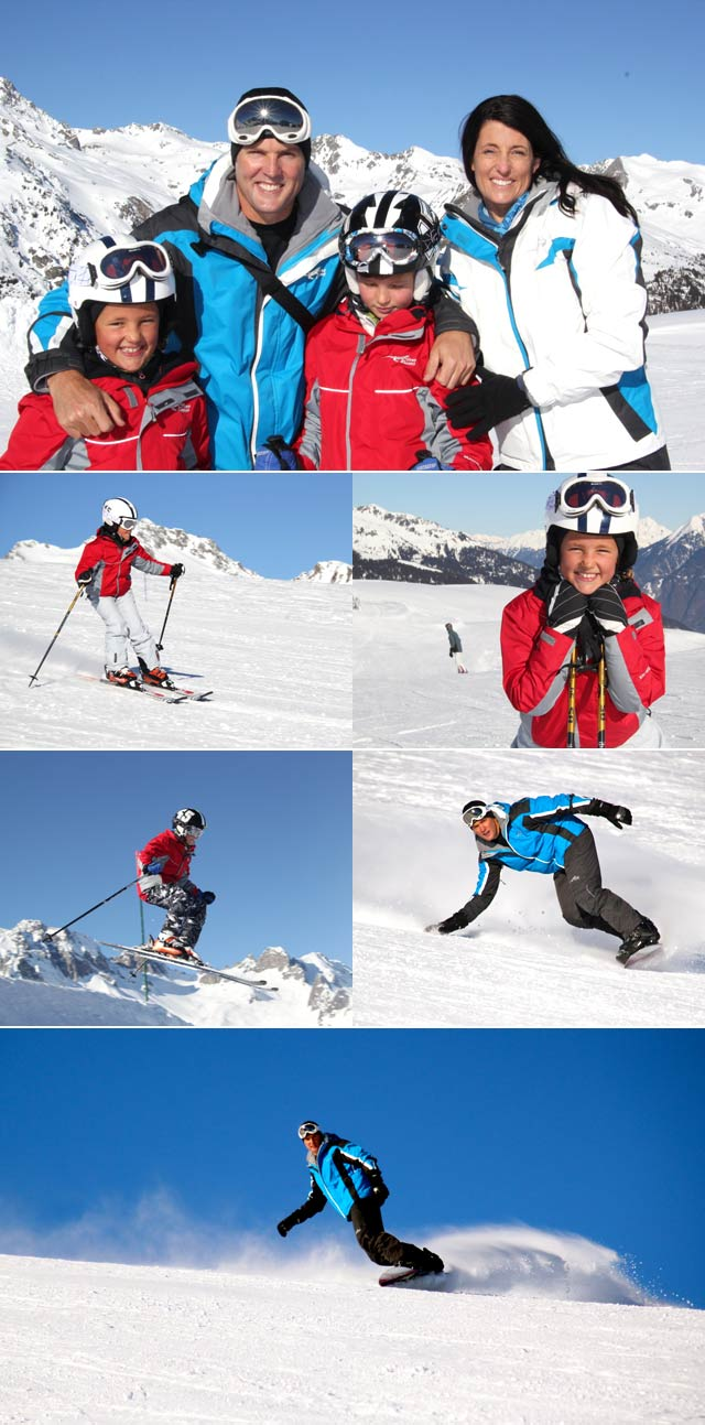 Michael Mol goes skiing at Valmorel