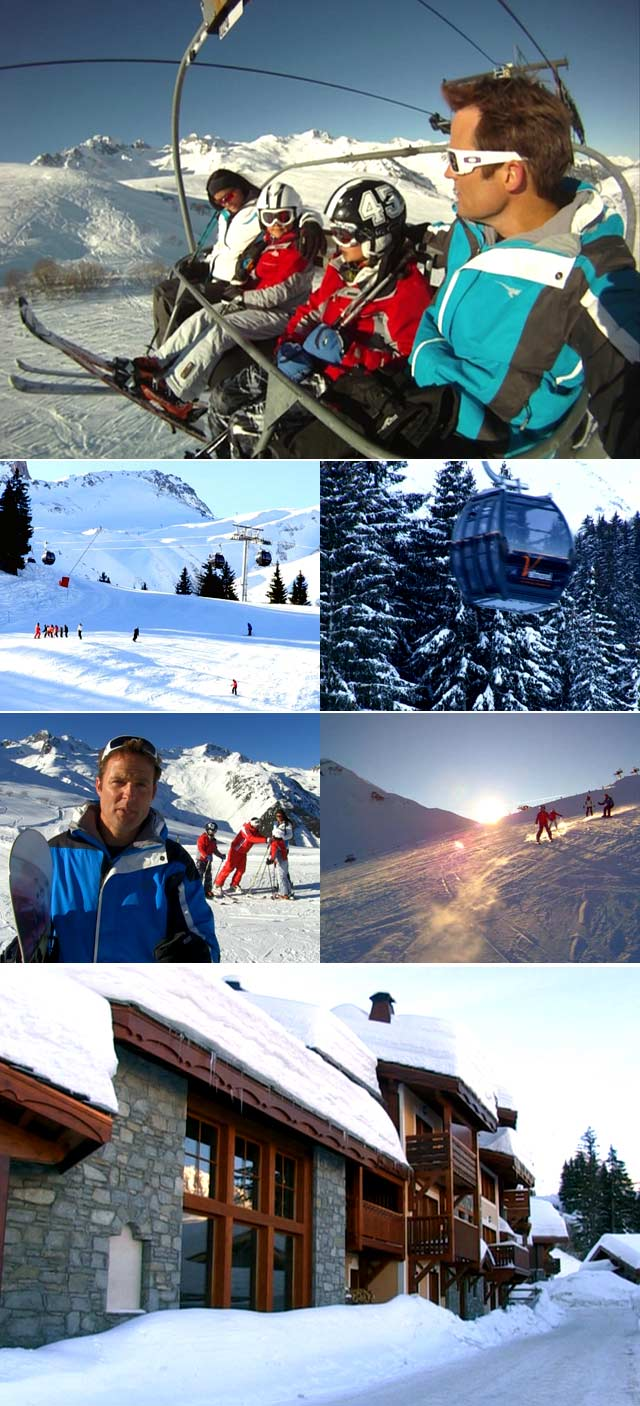 Michael Mol goes skiing at club med