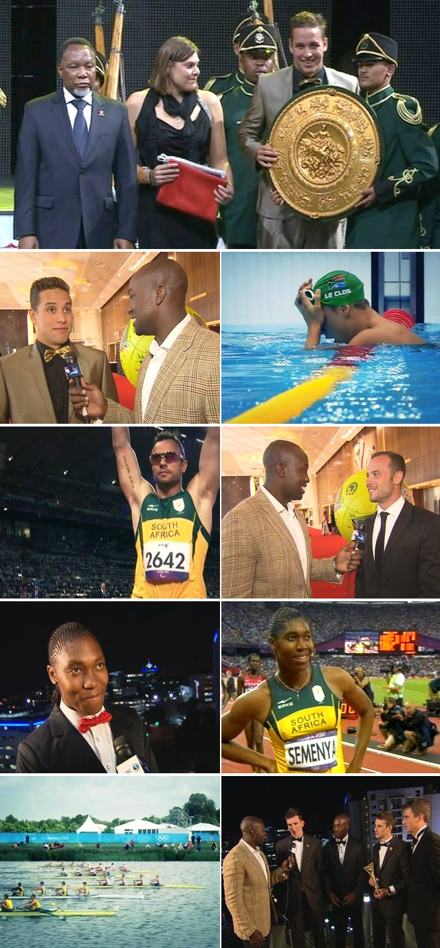 Top Billing attends the SA Sports awards