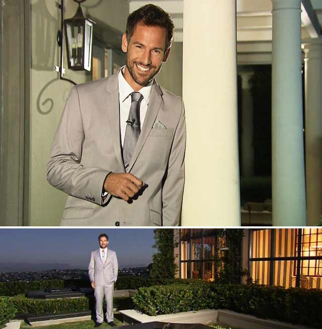 Janez Vermeiren on Top Billing wearing CSquared