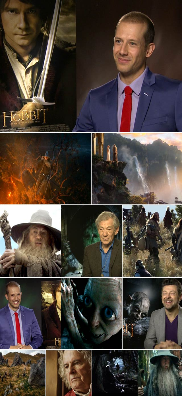 Top Billing interviews the cast of The Hobbit
