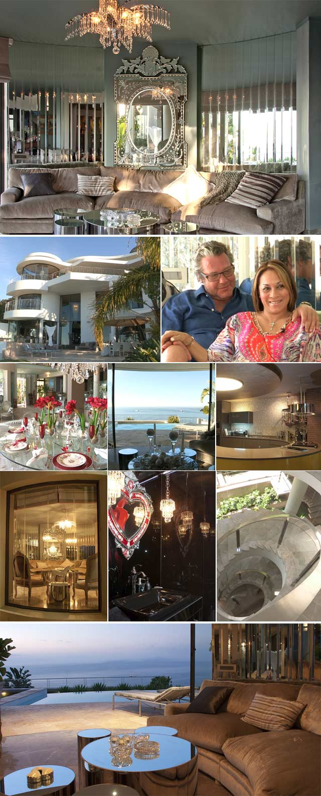 Top Billing features the glamorous home of Gloria Arendz