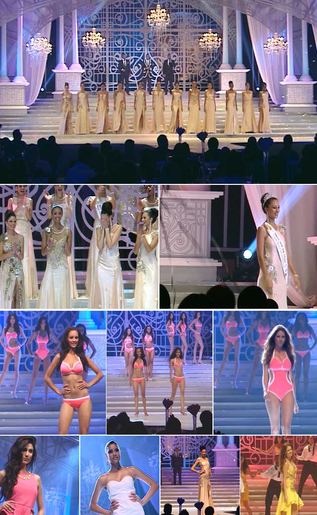Behind the scenes of the Miss SA 2012 pageant