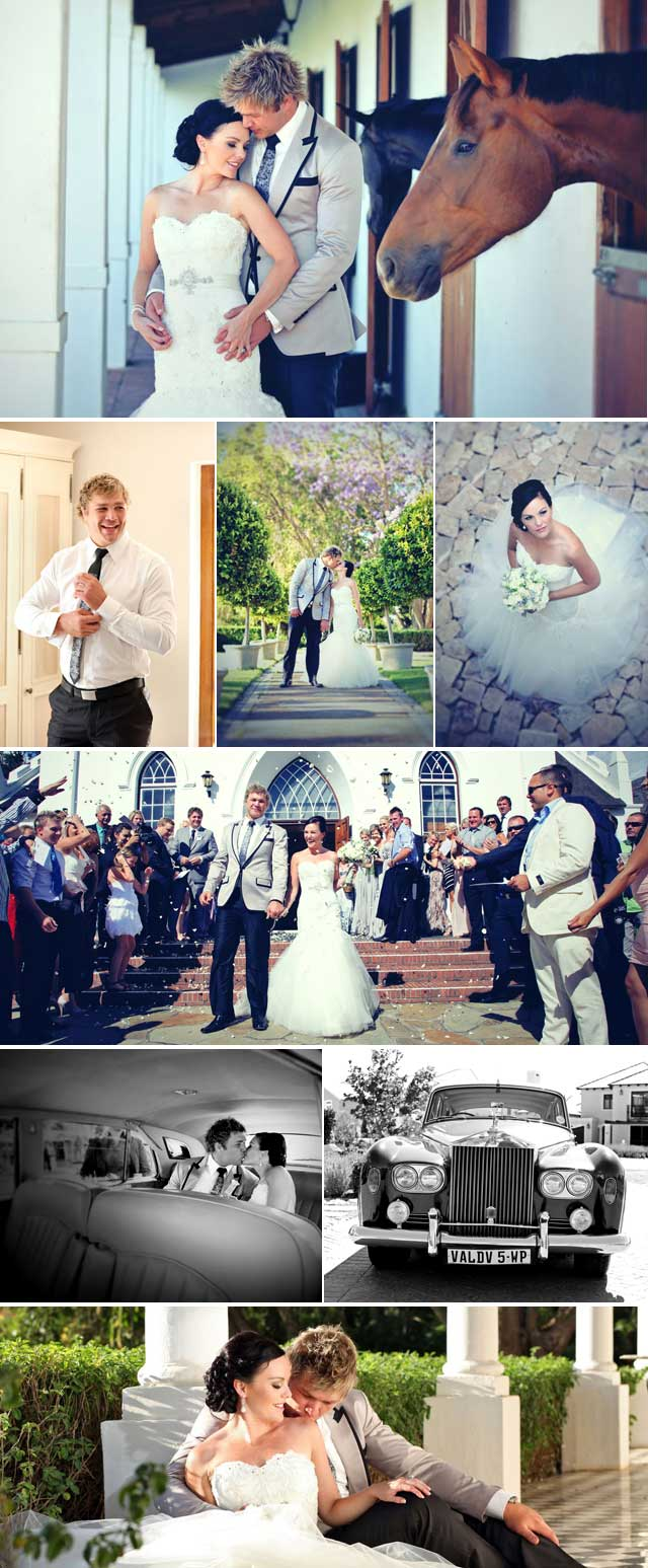 Top Billing attends the wedding of Duane Vermeulen
