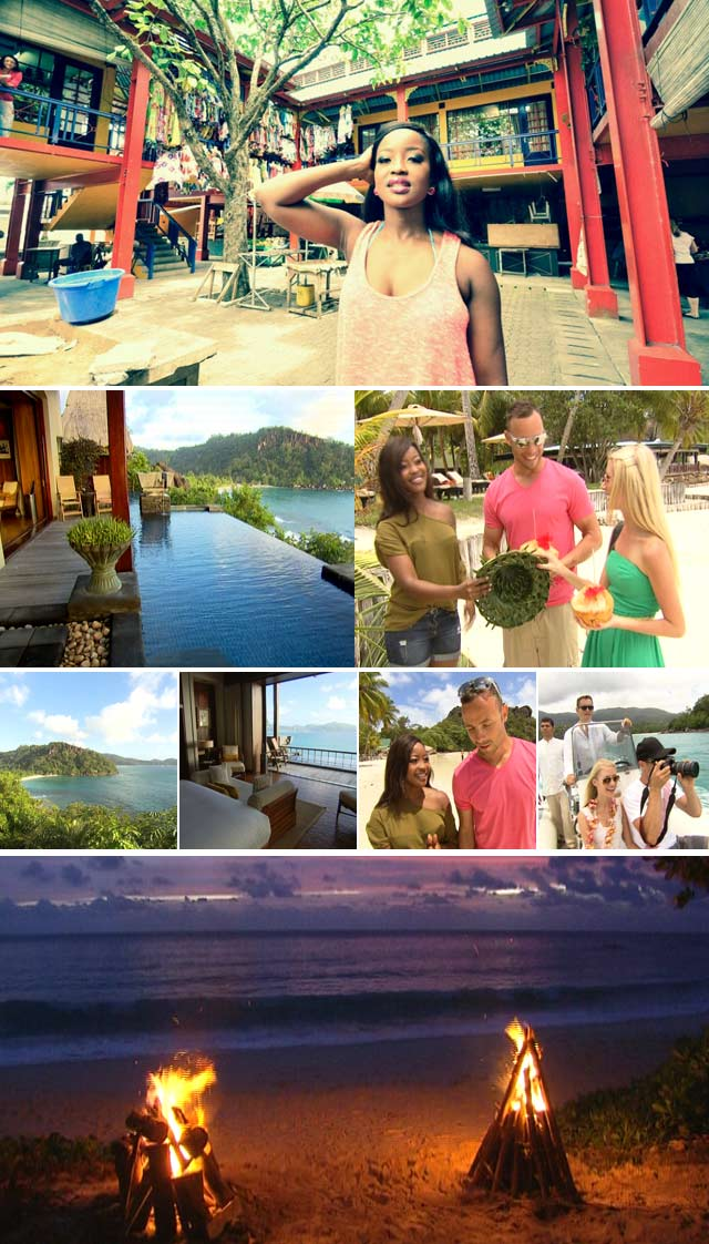 Oscar Pistorius and girlfriend in Seychelles with Top Billing