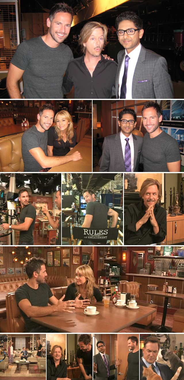 Behind the scenes of Rules of Engagement