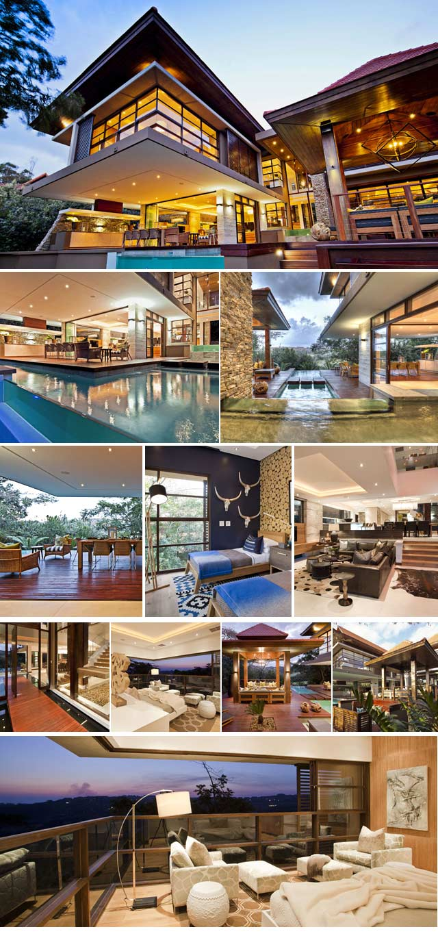 Top Billing features a Zimbali home