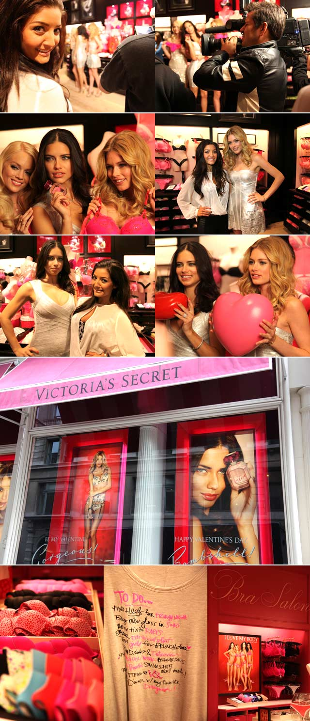 Jeannie D visits Victoria's Secret