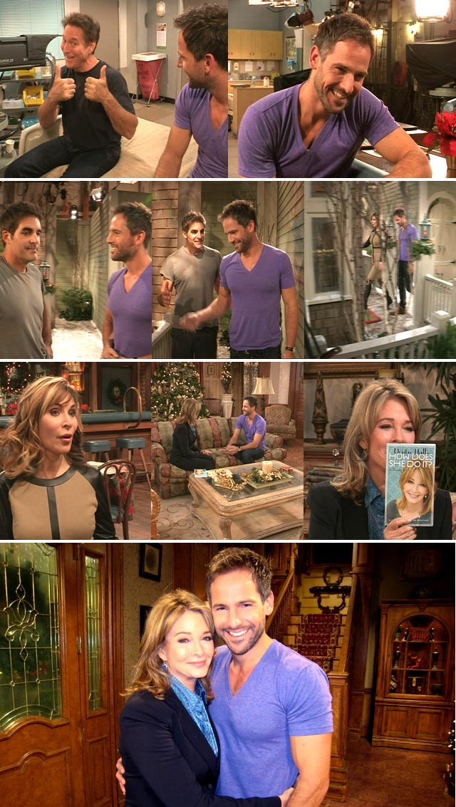Behind the scenes on Days of our lives 2