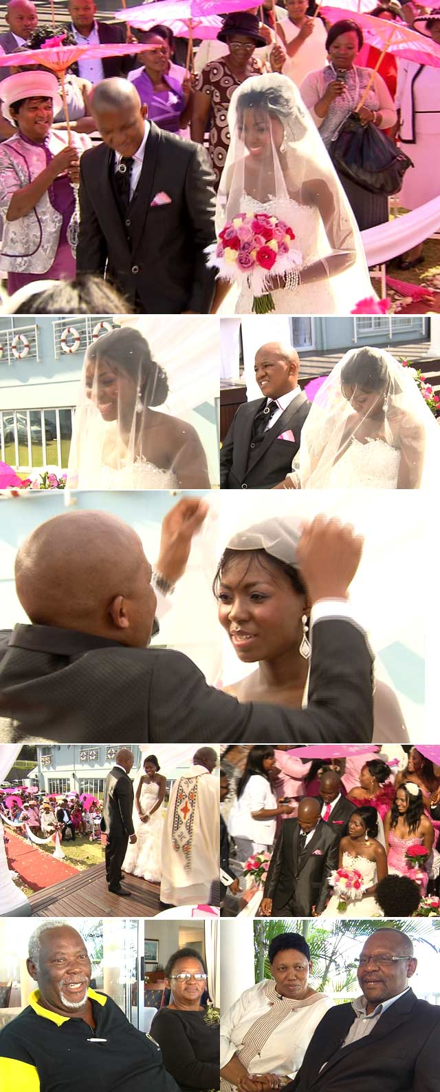 Minister of Basic Education's Daughter's Wedding on Top Billing