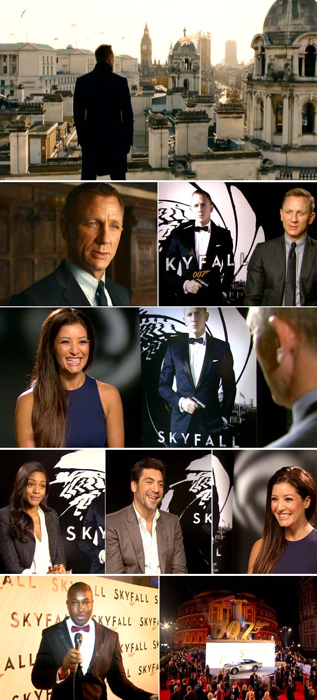 Top Billing interviews Daniel Craig for Skyfall