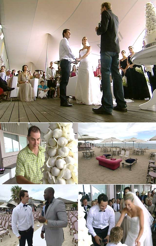 Greek Polish Wedding featured on Top Billing