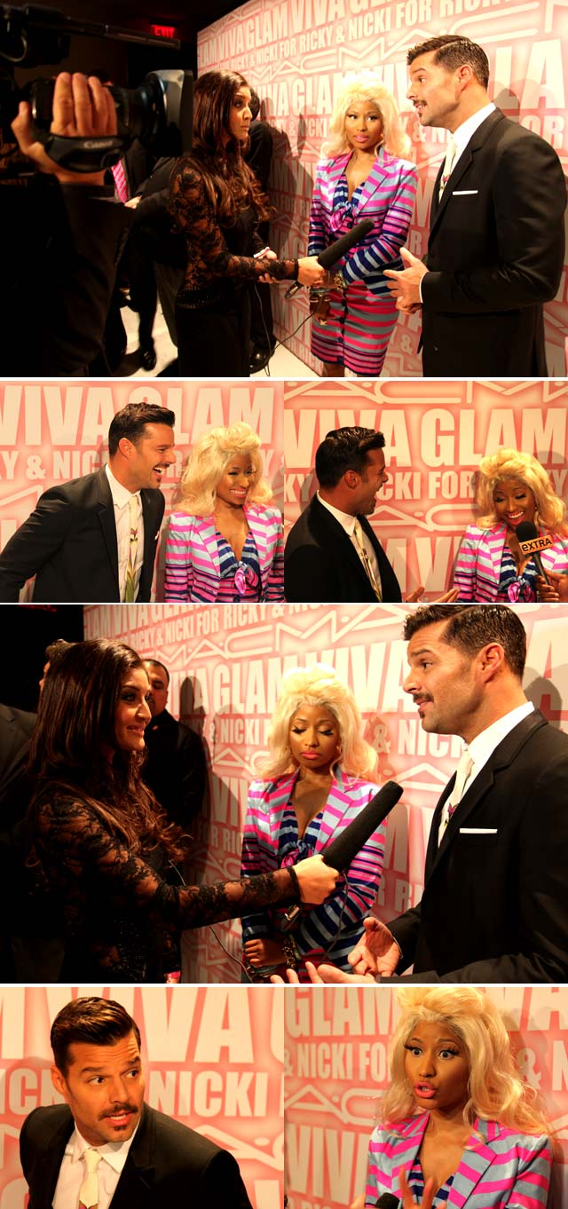 Top Billing interviews Ricky Martin and Niki Minaj