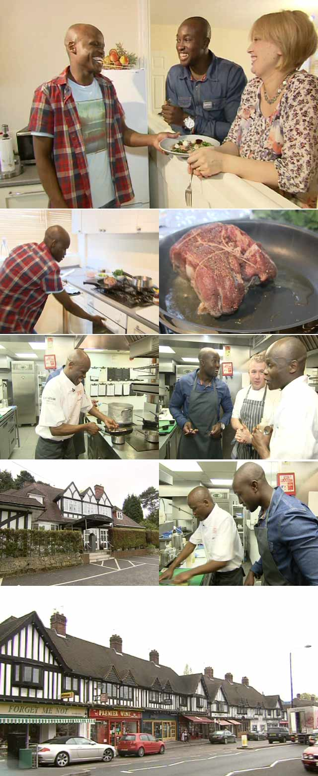 Top Billing interviews London chef Petrus Madutlela