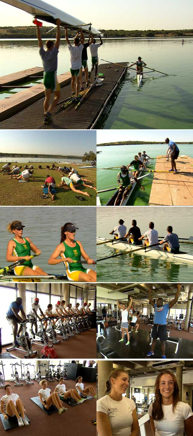 SA Rowing team on top billing