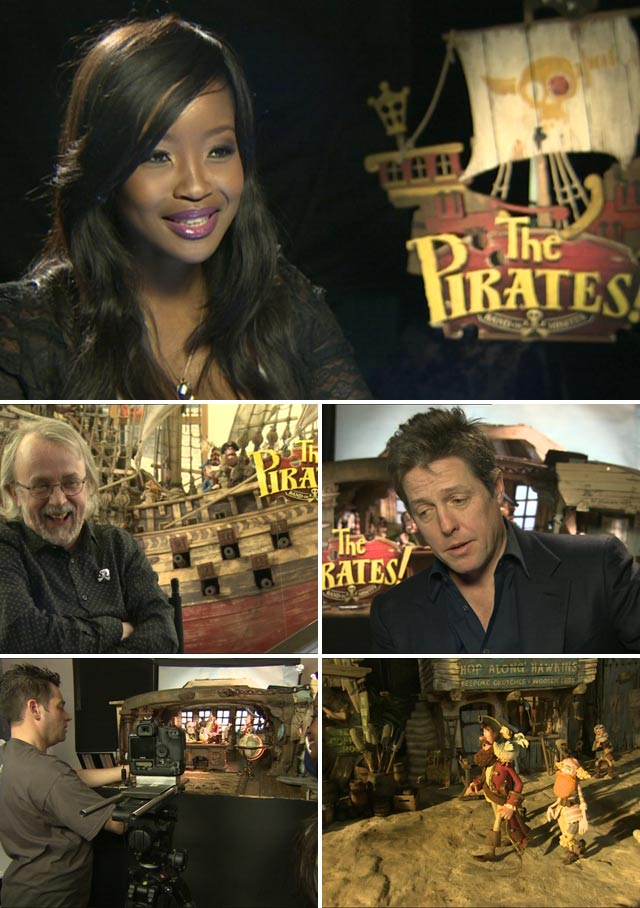 Top Billing meets the stars of Pirates