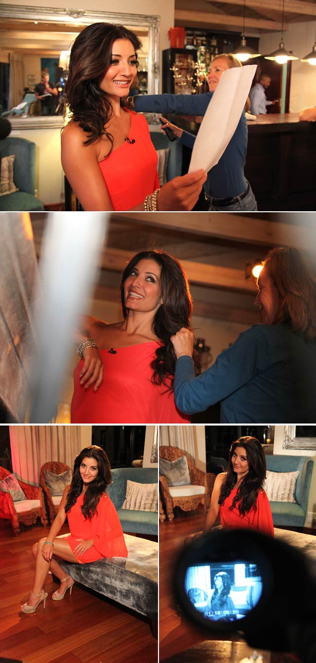 Behind the scenes of Top Billing with Jeannie D