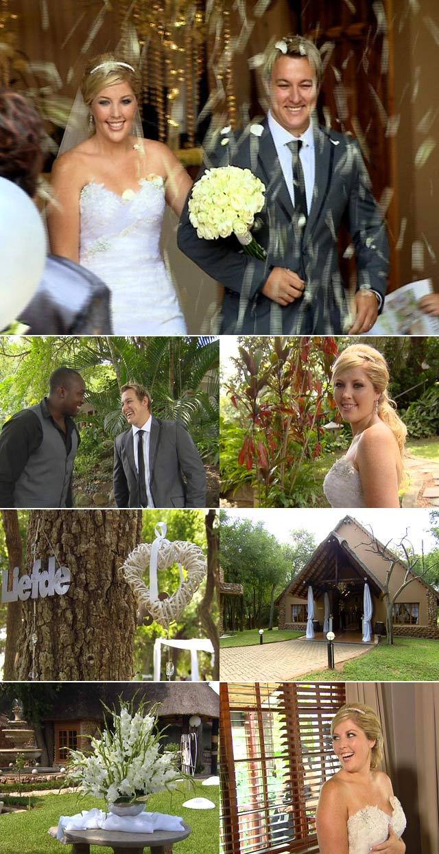 Arno Jordaan wedding on Top Billing