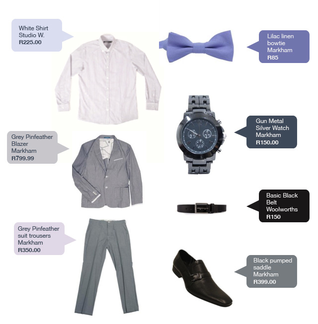 Get Janez's grey suit look on a budget